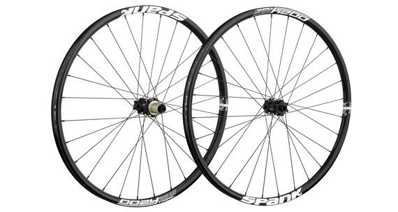 """Spank Oozy Trail295 Bead Bite - Roue - 26"""" roue avant : 15/100 mm, roue arrière : 12/142 mm noir"""